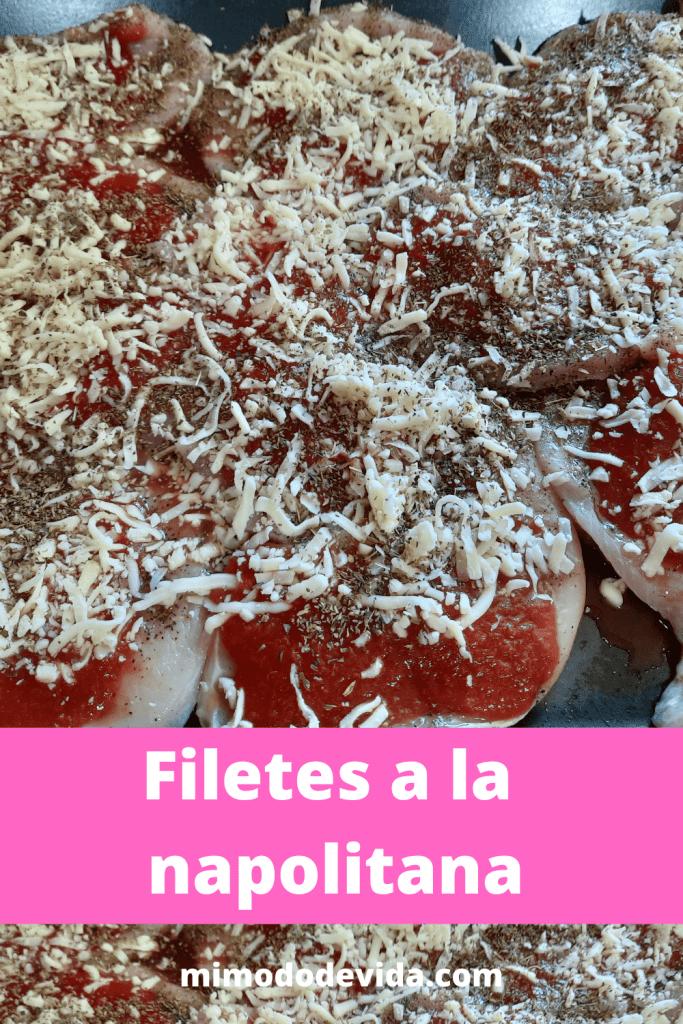 Receta Filetes a la napolitana