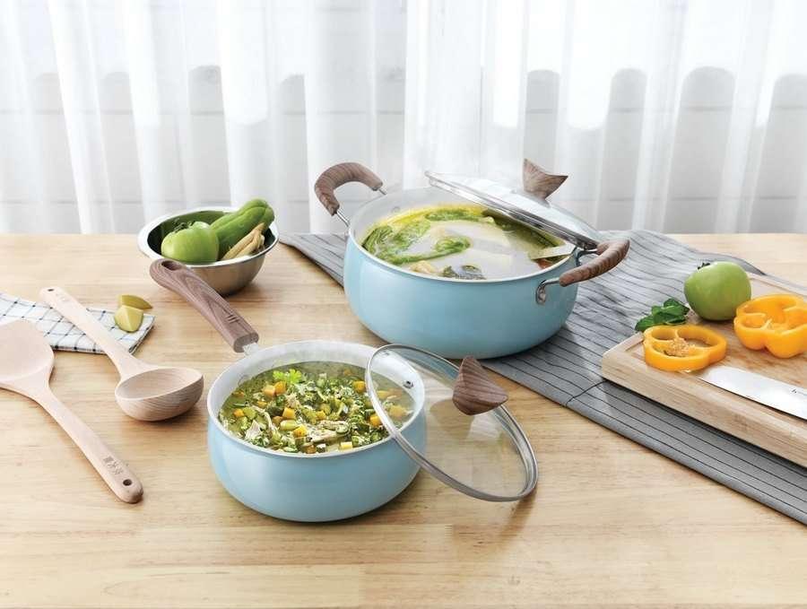 Sopa de verduras para cenar