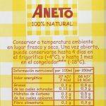 Sopa de pollo Aneto