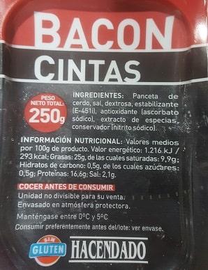 Citas de bacon