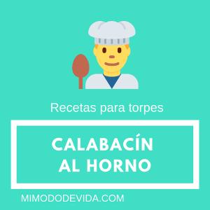 receta de calabacín sencillo