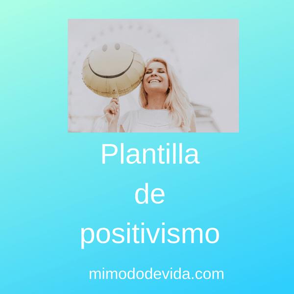 Plantilla de positivismo min - Descargas gratis