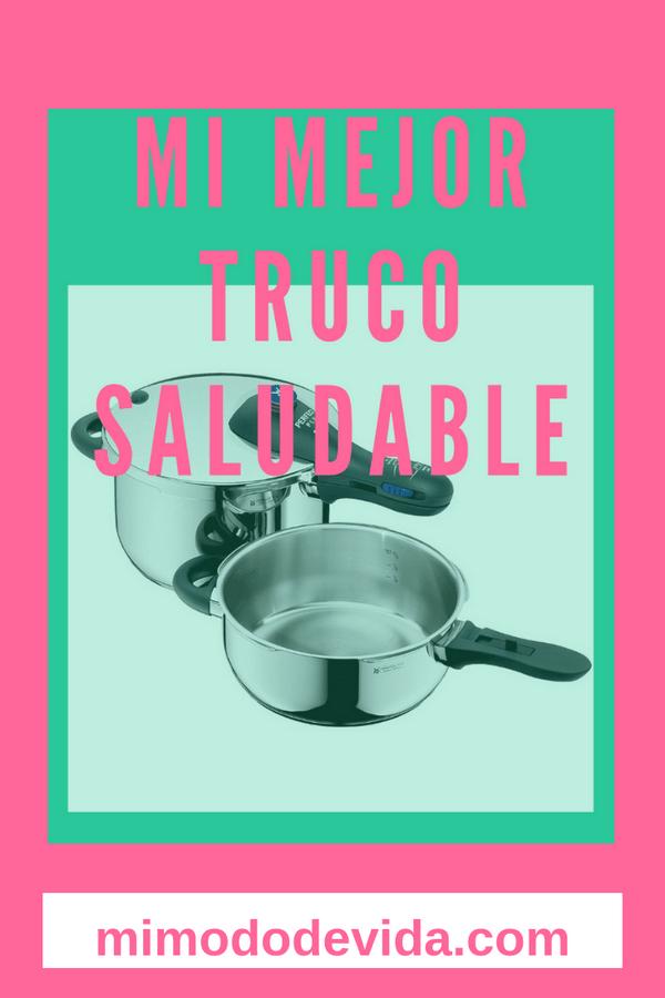 Cocinar con la olla a presión es la manera más fácil que puedes encontrar para cocinar de forma saludable, haciendo comidas ricas y con el menor esfuerzo posible.