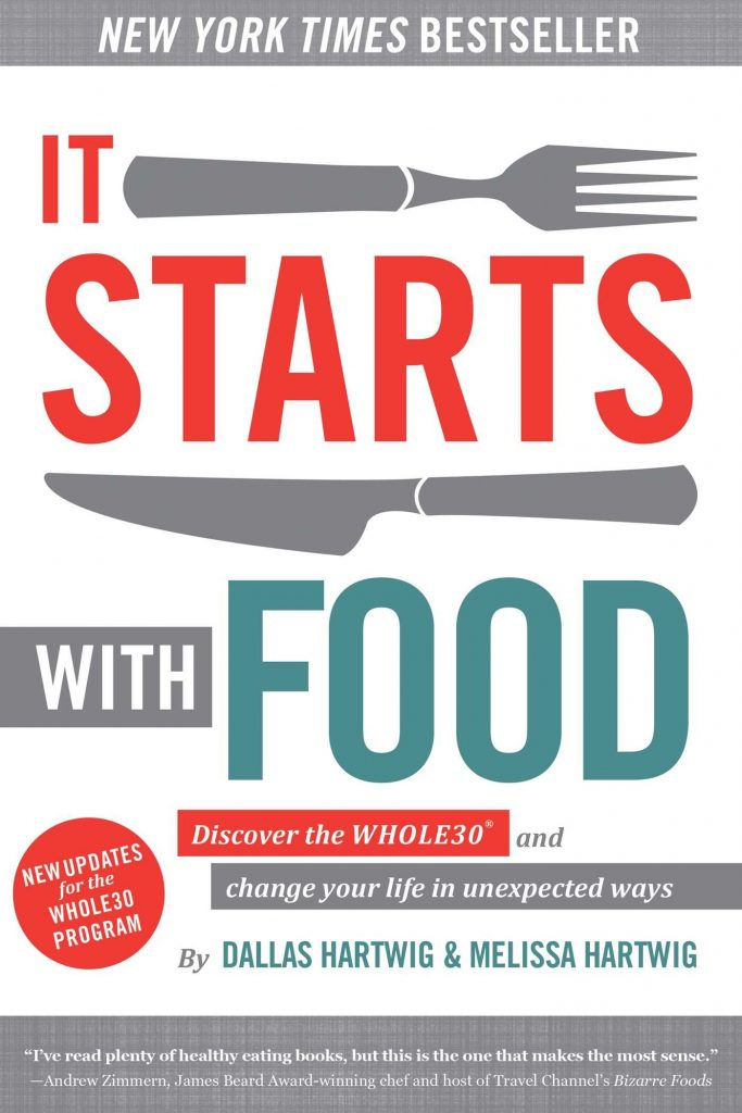 Libro It starts with food, Whole 30.Método para hacer una Whole 30.