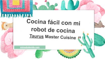 Robot Taurus para cocinar
