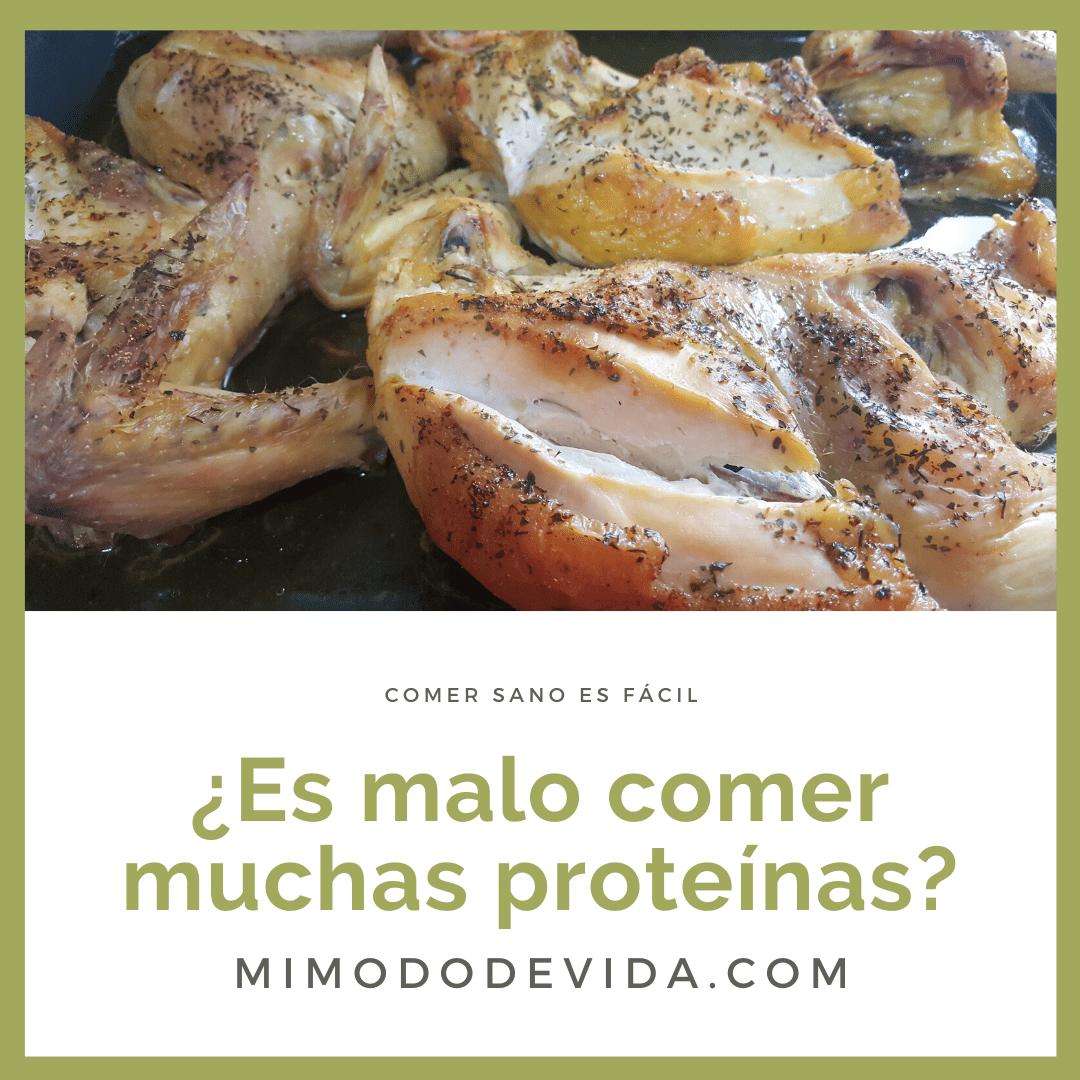Son buenas las proteínas