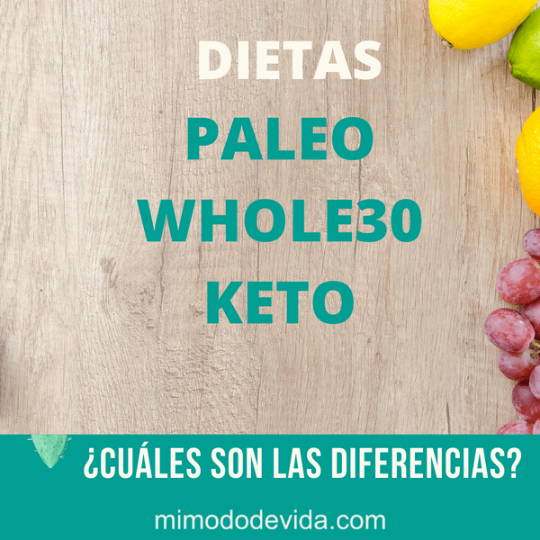 Cetogénica, Whole 30 , Paleo
