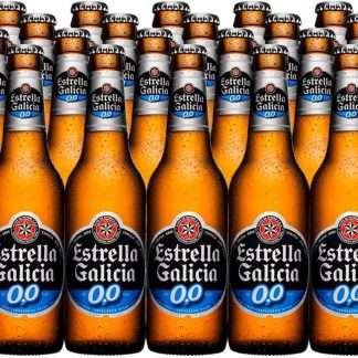 Cerveza sin alcohol en botella