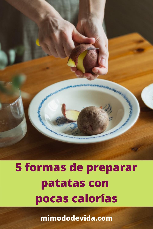 Receta Patatas sin calorías