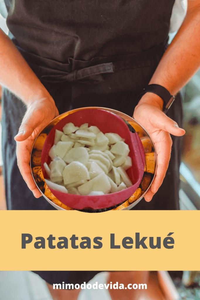Patatas en vaporera Lekué