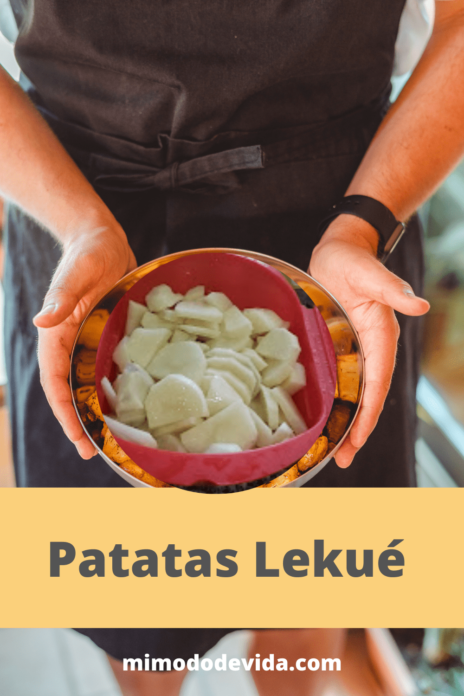Receta Patatas en vaporera Lekué