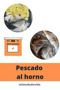 Receta Pescado al horno