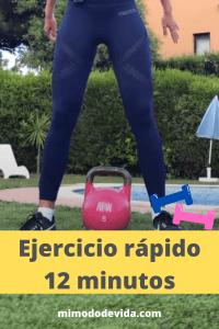 ejercicio rápido 12 minutos-