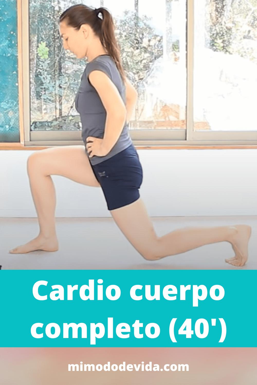Aerobic, Cardio cuerpo completo 40 minutos