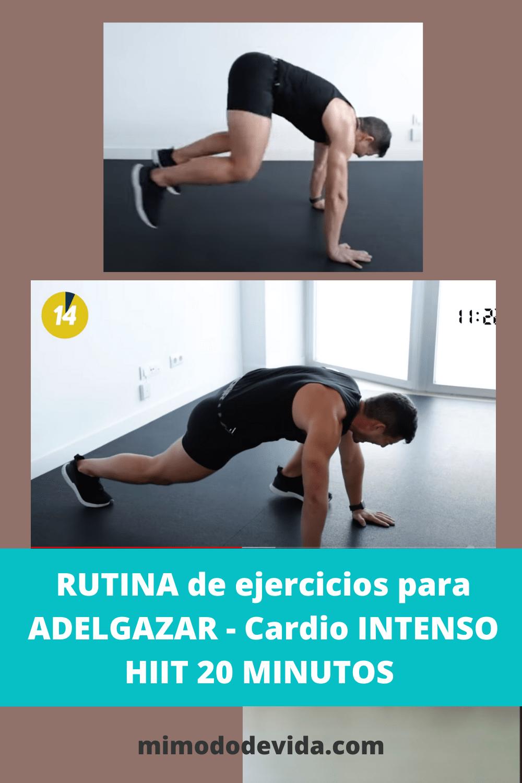 Hiit con Sergio Peinado ejercicio en casa