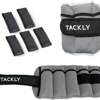 Pesas para Tobillos y muñecas 1 a 4 kg Convertibles con Banda Reflectante- Tobilleras con Peso - Lastres Tobillos Pesas para piernas