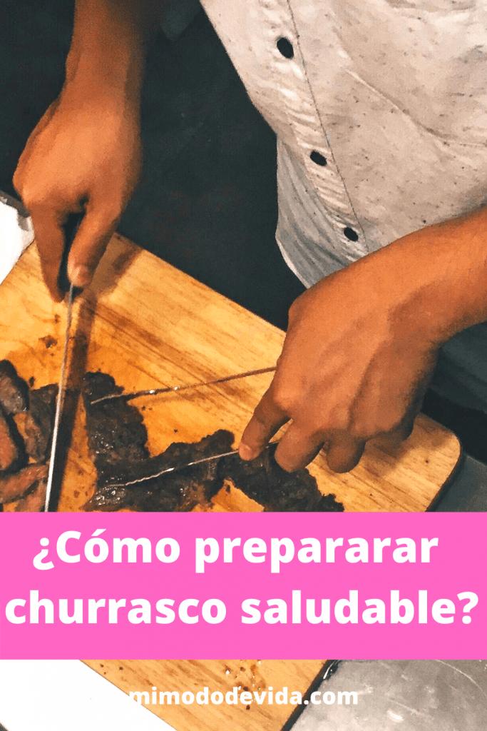 Receta Cómo preparar churrasco
