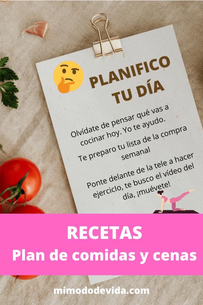 Planificadores saludables